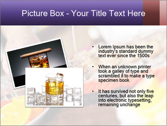 Bartender pours alcoholic drink PowerPoint Template - Slide 20