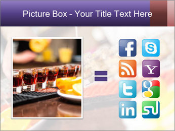 Bartender pours alcoholic drink PowerPoint Template - Slide 21