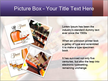 Bartender pours alcoholic drink PowerPoint Template - Slide 23