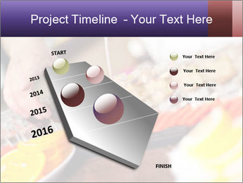 Bartender pours alcoholic drink PowerPoint Templates - Slide 26