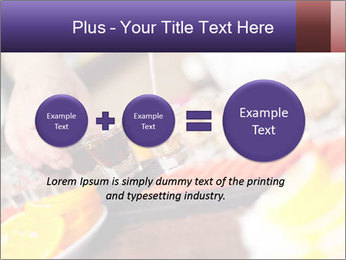 Bartender pours alcoholic drink PowerPoint Templates - Slide 75