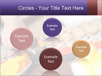 Bartender pours alcoholic drink PowerPoint Templates - Slide 77