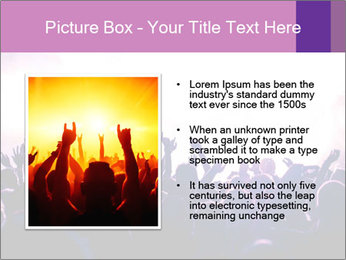 Cheering crowd PowerPoint Templates - Slide 13