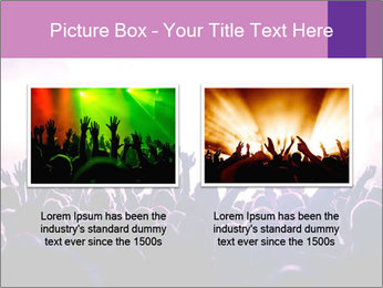 Cheering crowd PowerPoint Templates - Slide 18