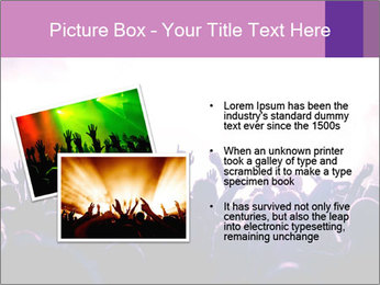 Cheering crowd PowerPoint Templates - Slide 20