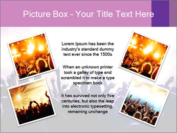 Cheering crowd PowerPoint Templates - Slide 24