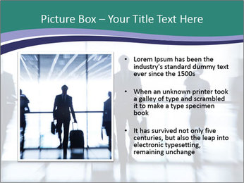 Several silhouettes PowerPoint Template - Slide 13