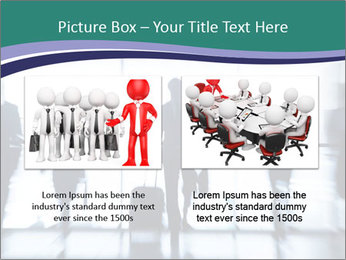 Several silhouettes PowerPoint Template - Slide 18