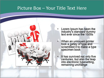 Several silhouettes PowerPoint Template - Slide 20