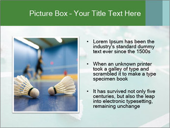 Badminton PowerPoint Templates - Slide 13