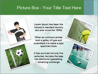 Badminton PowerPoint Templates - Slide 24