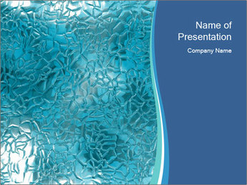 Seamless water texture PowerPoint Templates - Slide 1