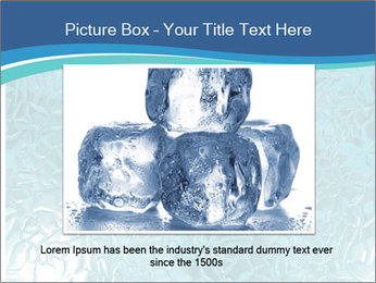 Seamless water texture PowerPoint Template - Slide 16