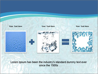 Seamless water texture PowerPoint Templates - Slide 22