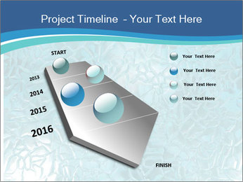 Seamless water texture PowerPoint Templates - Slide 26