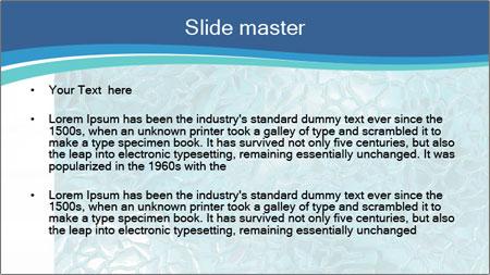 Seamless water texture PowerPoint Template - Slide 2
