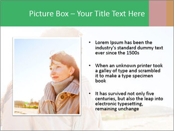 Beautiful young woman looking PowerPoint Templates - Slide 13