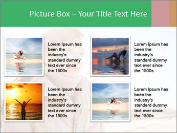 Beautiful young woman looking PowerPoint Templates - Slide 14