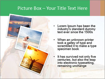 Beautiful young woman looking PowerPoint Templates - Slide 17
