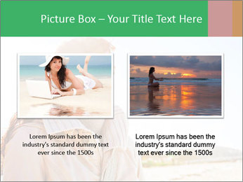 Beautiful young woman looking PowerPoint Templates - Slide 18