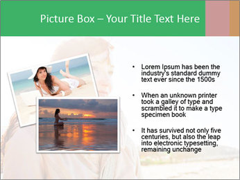 Beautiful young woman looking PowerPoint Templates - Slide 20