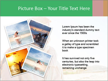 Beautiful young woman looking PowerPoint Templates - Slide 23