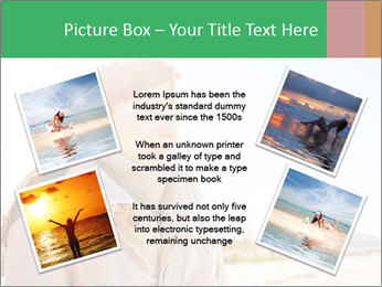Beautiful young woman looking PowerPoint Templates - Slide 24