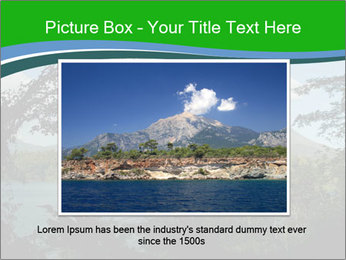 View of the Arenal volcano in Costa Rica PowerPoint Template - Slide 15