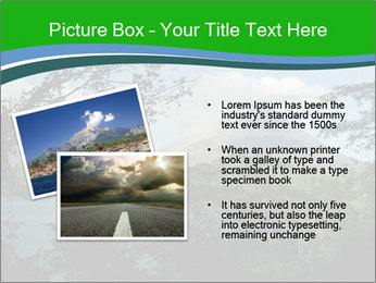 View of the Arenal volcano in Costa Rica PowerPoint Template - Slide 20