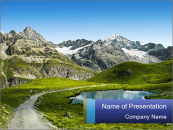 Amazing view PowerPoint Template - Slide 1