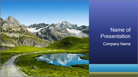 Amazing view PowerPoint Template
