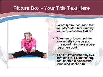 Portrait Of Senior Woman Exercising PowerPoint Template - Slide 13