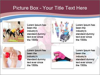 Portrait Of Senior Woman Exercising PowerPoint Template - Slide 14