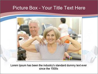 Portrait Of Senior Woman Exercising PowerPoint Template - Slide 15