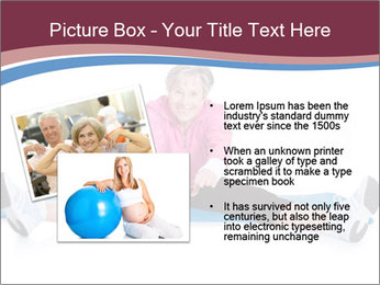 Portrait Of Senior Woman Exercising PowerPoint Template - Slide 20