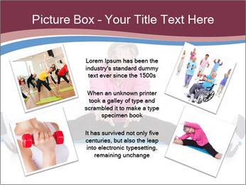 Portrait Of Senior Woman Exercising PowerPoint Template - Slide 24