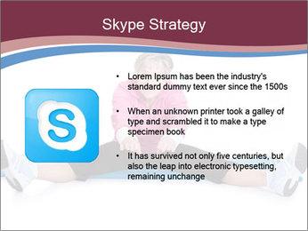 Portrait Of Senior Woman Exercising PowerPoint Template - Slide 8