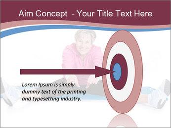 Portrait Of Senior Woman Exercising PowerPoint Template - Slide 83