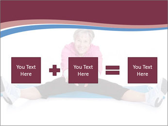 Portrait Of Senior Woman Exercising PowerPoint Template - Slide 95