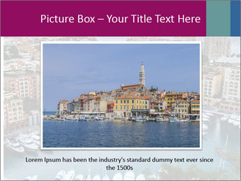 Aerial View on Fontvieille PowerPoint Templates - Slide 16