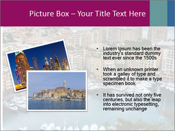 Aerial View on Fontvieille PowerPoint Templates - Slide 20
