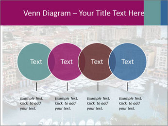 Aerial View on Fontvieille PowerPoint Templates - Slide 32