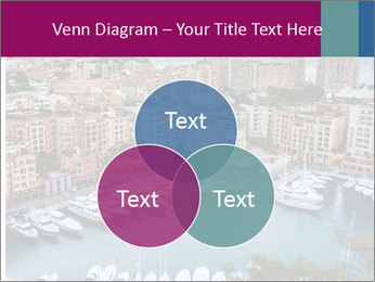 Aerial View on Fontvieille PowerPoint Templates - Slide 33