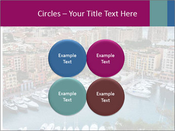 Aerial View on Fontvieille PowerPoint Templates - Slide 38