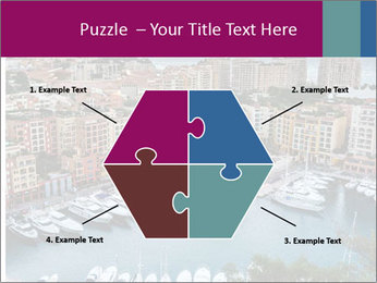 Aerial View on Fontvieille PowerPoint Templates - Slide 40