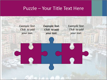 Aerial View on Fontvieille PowerPoint Templates - Slide 42