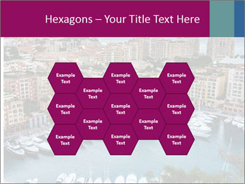 Aerial View on Fontvieille PowerPoint Templates - Slide 44