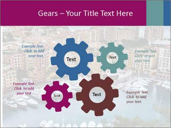 Aerial View on Fontvieille PowerPoint Templates - Slide 47