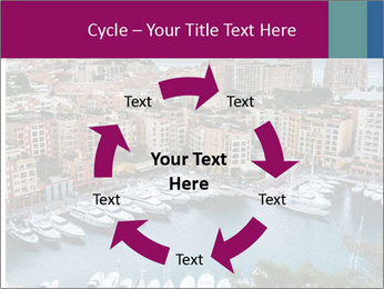 Aerial View on Fontvieille PowerPoint Templates - Slide 62