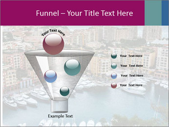 Aerial View on Fontvieille PowerPoint Templates - Slide 63